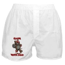 Suicide Teddy Bear Boxer Shorts