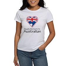 Happily Married Australian Tee