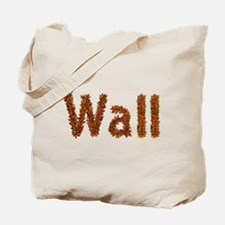 Wall Fall Leaves Tote Bag
