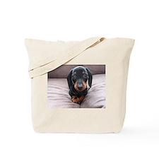 """Adorable Puppies"" Tote Bag"