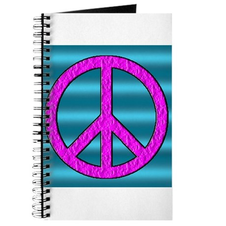 Peace Symbol Sign Journal