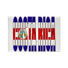 Costa Rica Rectangle Magnet
