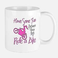 Fun Between Your Legs, Ride A Bike. Small Small Mug