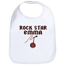 """""""Rock Star Emma"""" Bib"""