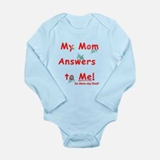 Funny Children sayings Long Sleeve Infant Bodysuit