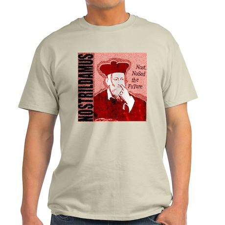 Nostrildamus Ash Grey T-Shirt