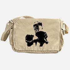 athlete boxing Messenger Bag