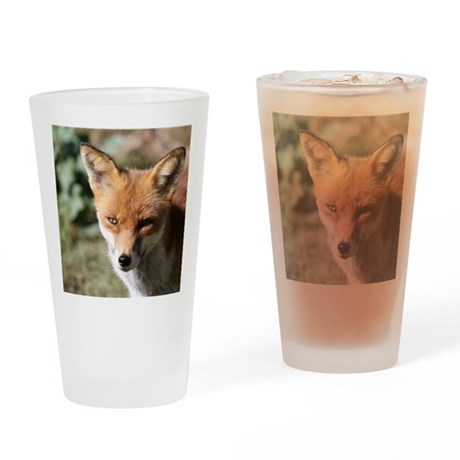 Fox001 Drinking Glass