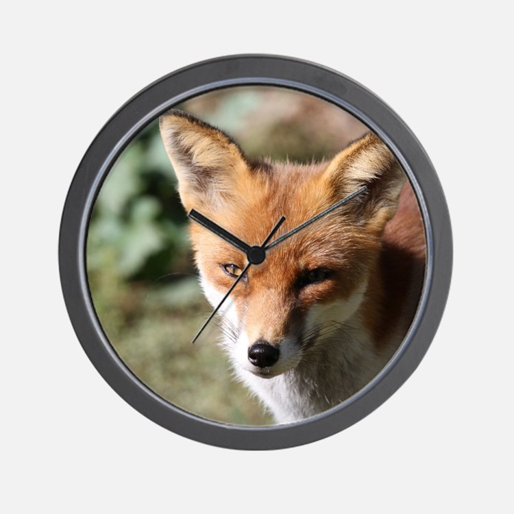 Fox001 Wall Clock
