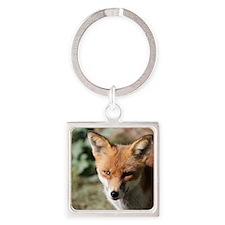 Fox001 Square Keychain