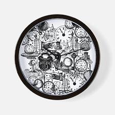 Steampunk  Wall Clock