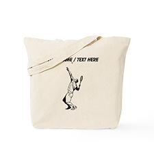 Custom Tennis Serve Tote Bag