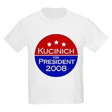 Kucinich '08 Kids T-Shirt