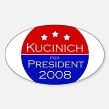 Kucinich '08 Oval Decal
