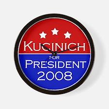 Kucinich '08 Wall Clock
