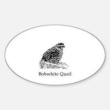 Bobwhite Quail (line art) Decal