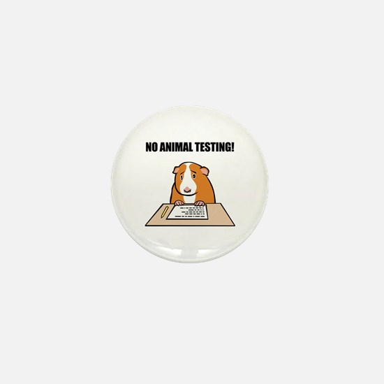 No Animal Testing! Mini Button (10 pack)