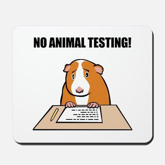 No Animal Testing! Mousepad