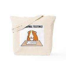 No Animal Testing! Tote Bag