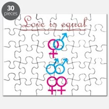 Love is Equal Puzzle