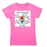 4th grade Girl's Dark T-Shirt