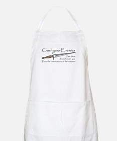 Crush Your Enemies BBQ Apron