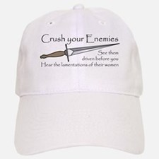 Crush Your Enemies Baseball Baseball Cap