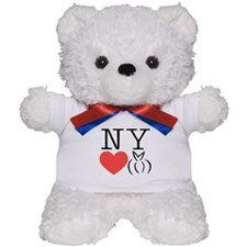 New York heart bunny Teddy Bear