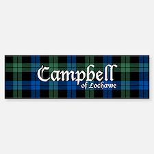 Tartan - Campbell of Lochawe Bumper Bumper Sticker