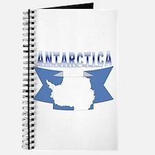 Antarctic flag ribbon Journal