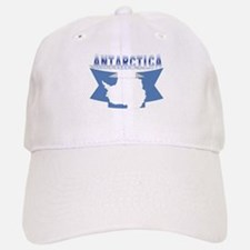 Antarctic flag ribbon Baseball Baseball Cap