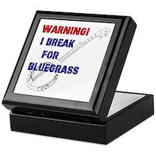 Bluegrass Banjo Break Keepsake Box