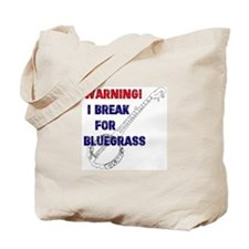 Bluegrass Banjo Break Tote Bag