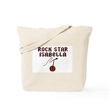 """Rock Star Isabella"" Tote Bag"