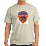 Downey Police Ash Grey T-Shirt
