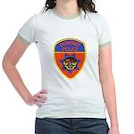 Downey Police Jr. Ringer T-Shirt