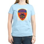 Downey Police Women's Pink T-Shirt
