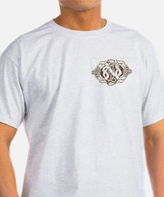 Celtic Stone: Guardian Dogs Ash Grey T-Shirt