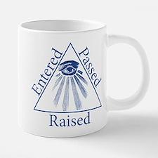 Entered Passed Raised Mugs
