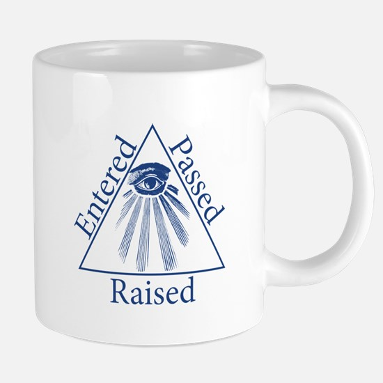 Entered Passed Raised Mugs