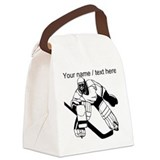 Hockey goalie Canvas Lunch Bag