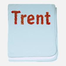 Trent Fall Leaves baby blanket