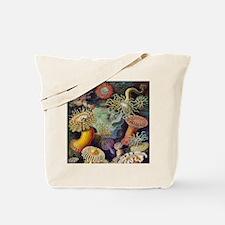 Vintage Sea Anemones Tote Bag