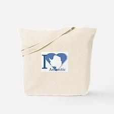 I love antarctic Tote Bag