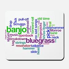 banjo wordle.PNG Mousepad