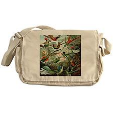 Vintage Hummingbirds Messenger Bag