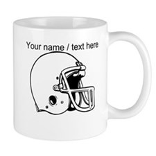 Custom Football Helmet Mugs