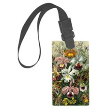 Vintage Orchids Luggage Tag