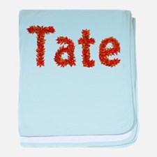 Tate Fall Leaves baby blanket