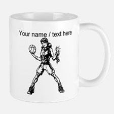 Custom Girl Basketball Player Mugs